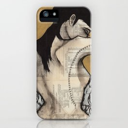Lace I iPhone Case