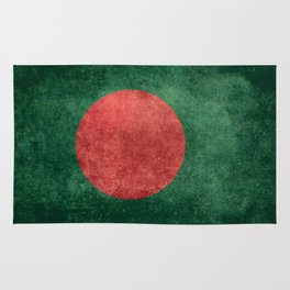 Flag of Bangladesh, Vintage Version Rug