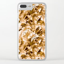 Woman-moth Clear iPhone Case