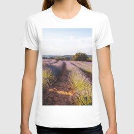 Lavender Fields at Sunset T-shirt