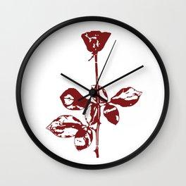 Violator Rose DM Wall Clock
