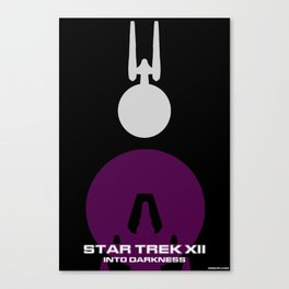 Trek XII: Into Darkness Canvas Print