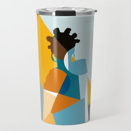 Bantu Woman Travel Mug
