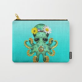 Cute Baby Octopus Hippie Carry-All Pouch