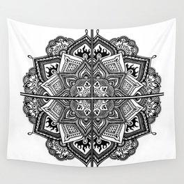 Mandala Fleur Wall Tapestry