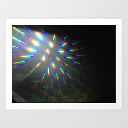 light lines Art Print