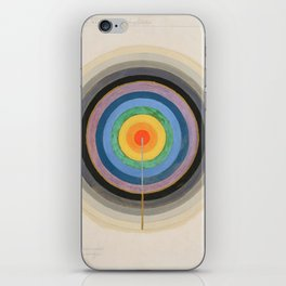 """Hilma af Klint """"Series VIII. Picture of the Starting Point (1920)"""" iPhone Skin"""