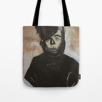 goth Tote Bags featuring Goth by Rick Onorato