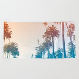 Summer in LA Beach Towel