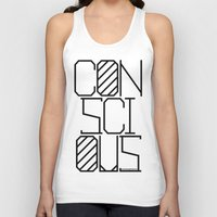 techno Tank Tops featuring Techno by Conscious Panda