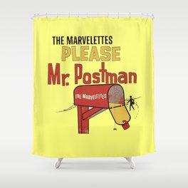 Mr. Postman Shower Curtain