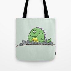 Happy Monster Tote Bag