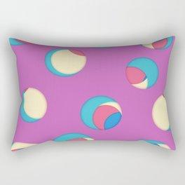 Cut the holes! Fuchsia sheet Rectangular Pillow