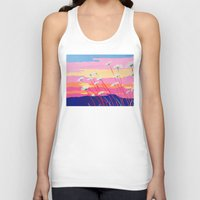 daisies Tank Tops featuring Daisies by Suzanne Gibson