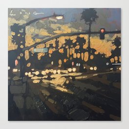 Evening Traffic Canvas Print