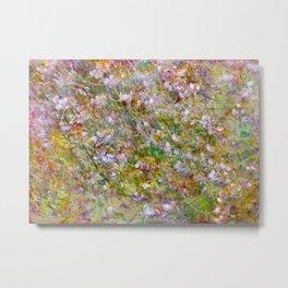 Joyful Blossoms Metal Print