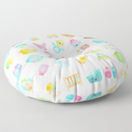 CUTE BABY PATTERN Floor Pillow