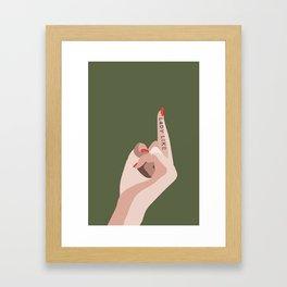 LADYLIKE Gerahmter Kunstdruck