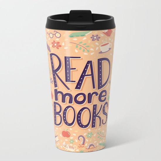 Read more books Metal Travel Mug