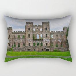 Loudoun Castle Ruin  Rectangular Pillow