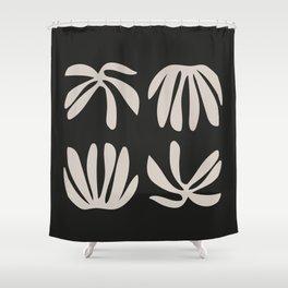 Mediterranean Shapes Shower Curtain