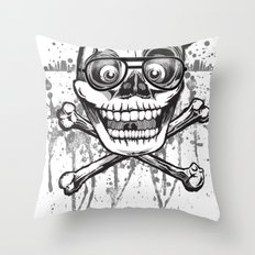 City of despair and good fortune Throw Pillow