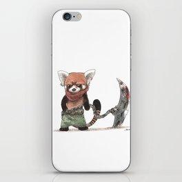 Panda Roux Barbare iPhone Skin