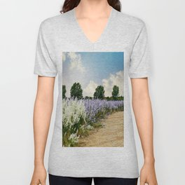 Coloured Landscape Unisex V-Neck