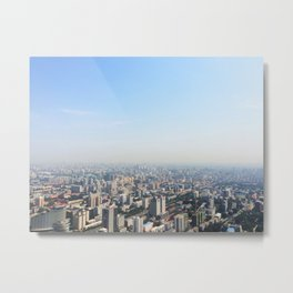 Sky-High Beijing Metal Print