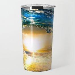 Glowing Wave Travel Mug