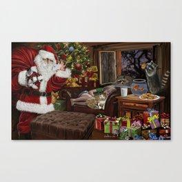 Snappy Santa Canvas Print