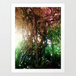 A Trip Through The Garden Art Print