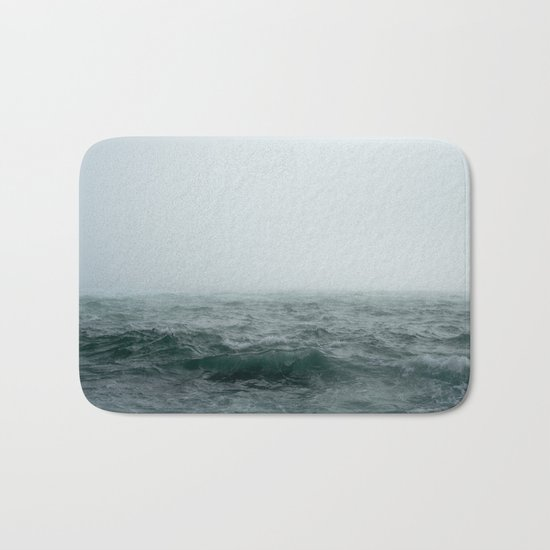 Choppy Seas Bath Mat