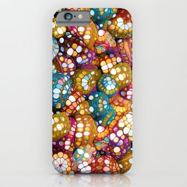Happy Boho Bling Colors iPhone Case