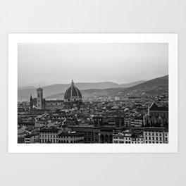 Duomo view Art Print