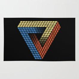 Penrose Puzzle Rug