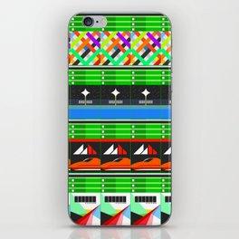 NEX GEN GREEN iPhone Skin