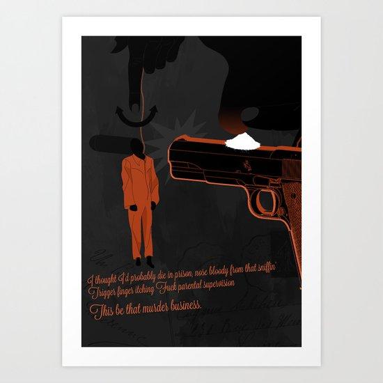 Long Live A$AP Art Print