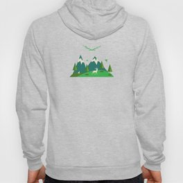 Nature & Mountains Vector Hoody