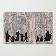 On the way (The Fellowship of the Ring, LOTR) Canvas Print