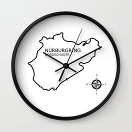 The Nurburgring Wall Clock