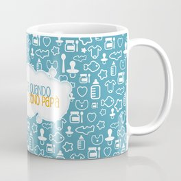 Da quando sono papà blu Coffee Mug