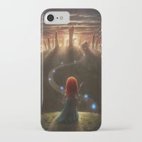 brave iPhone & iPod Cases featuring Brave by Westling