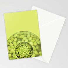Green Beans Stationery Cards