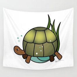 Turtle in a Circle Wall Tapestry