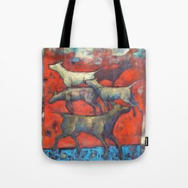 Street dogs. Tote Bag