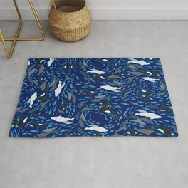 Arctic Ocean by Crow Creek Cool Rug