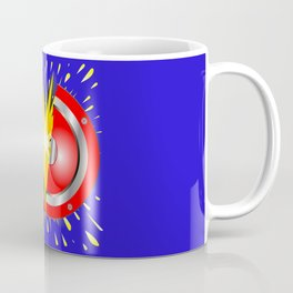 Rock Guitar Speaker Explosion Coffee Mug