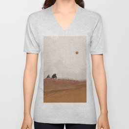 There Is No Need To Rush Unisex V-Neck