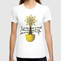 arya T-shirts featuring Flower Fingers by Hinal Arya
